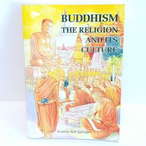 "Vintage ""Buddhism -The Religion And It's Culture"""
